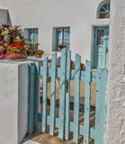 Santorini home Royalty Free Stock Photo
