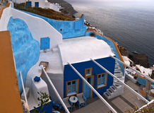 Santorini house Royalty Free Stock Images