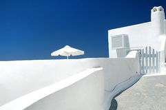 Santorini house Royalty Free Stock Photography
