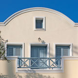 Santorini house - hotel Stock Photography