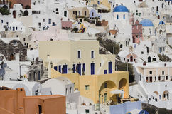 Santorini Houses Royalty Free Stock Image