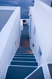 Santorini houses - Stairway to Heaven Royalty Free Stock Images