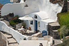 Santorini Ia stockbilder