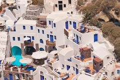 Santorini Ia Stock Photos