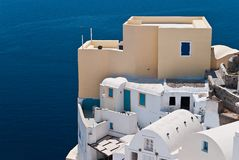 Santorini Ia Royalty Free Stock Photos