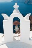 Santorini Ia Fotografia Stock Libera da Diritti