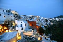 Santorini, il romantico Immagini Stock