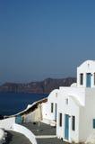 Santorini incredibile Fotografie Stock