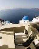 Santorini incredible view stock photos