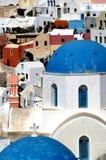 Santorini incroyable Images libres de droits