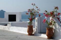 Santorini incroyable photos libres de droits
