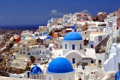 Santorini Insel Stockbild