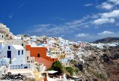 Santorini Insel Stockfotos