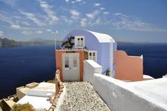 Santorini Insel Stockfotografie