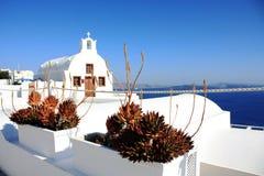 Santorini-Insel Lizenzfreie Stockfotos