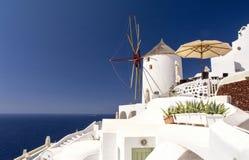 Santorini-Insel - die Kykladen Griechenland Stockbilder
