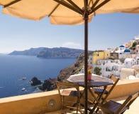 Santorini-Insel - die Kykladen Griechenland Lizenzfreies Stockfoto