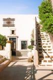 Santorini-Insel, Griechenland, Ägäisches Meer, Europa Details der traditionellen cycladic Architektur, eine der schönsten Reise stockfotos