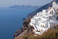 Santorini - Insel, Griechenland Stockfotografie