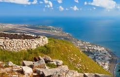 Santorini Insel in Griechenland Stockfoto