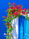 Santorini Insel, Griechenland Lizenzfreies Stockfoto