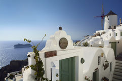 Santorini - Insel in Griechenland Stockfotos