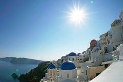 Santorini Insel, Griechenland Stockfotografie