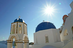 Santorini Insel, Griechenland Stockbilder