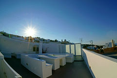 Santorini Insel, Griechenland Lizenzfreies Stockbild