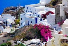 Santorini iskand, Griekenland Royalty-vrije Stock Foto