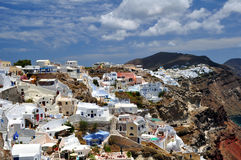 Santorini Island Royalty Free Stock Photo