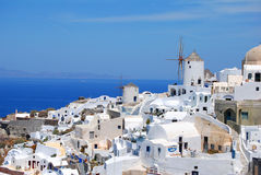Santorini island Stock Photography