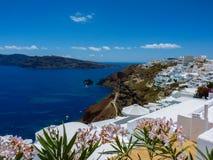 Santorini island Stock Photo