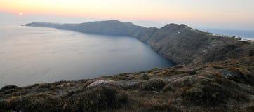 Santorini island caldera, Greece Stock Images
