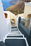 Santorini island in the Cyclades, Greece Royalty Free Stock Images
