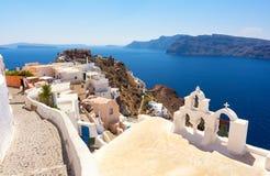Santorini island, Cyclades, Greece Stock Images