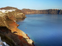 Santorini Island, Cyclades Greece Stock Photos
