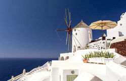 Santorini island - Cyclades Greece Stock Images