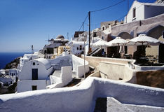 Santorini island, Cyclades, Greek Royalty Free Stock Photos