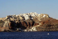 Santorini island, Cyclades, Greek Stock Photography