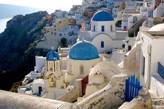 Santorini. Island grece travel city mountains summer Royalty Free Stock Photo
