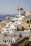 Santorini Island, Greece. Oia Village on the Greek Island of Santorini, Cyclades, Greece Stock Photos