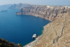 Santorini island. Greece Royalty Free Stock Image