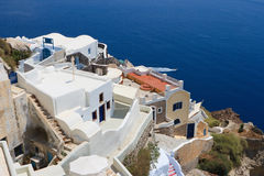 Santorini island. Greece Stock Images