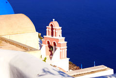 Santorini island in Greece Royalty Free Stock Photography