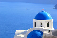 Santorini island Greece Stock Photography