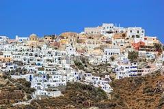 Santorini island Greece stock photos