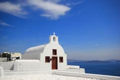 Santorini island Greece Stock Image