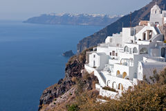 Santorini - island, Greece Stock Photography