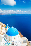 Santorini Island, Greece stock photography
